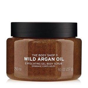 Buy The Body Shop Wild Argan Oil Rough Scrub - Nykaa