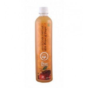 Buy True Elements Apple Cider Vinegar With Mother Of Vinegar  - Nykaa