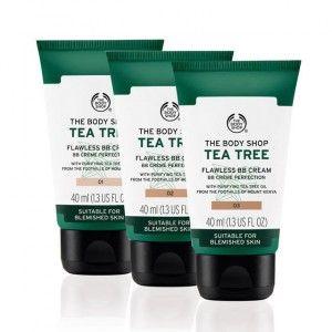Buy The Body Shop Tea Tree Flawless BB Cream - Nykaa