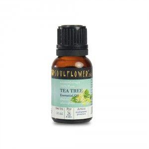 Buy Soulflower Tea Tree Essential Oil - Nykaa