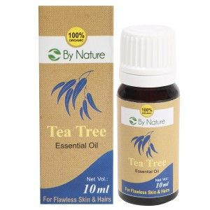 Buy By Nature Tea Tree Essential Oil - Nykaa
