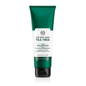 Buy The Body Shop Tea Tree 3IN1 (Wash. Scrub & Mask) - Nykaa