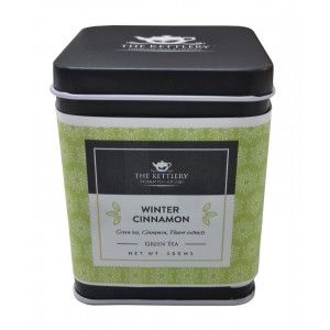 Buy The Kettlery Winter Cinnamon (Green Tea) - Nykaa