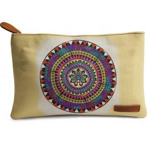Buy DailyObjects Tribal Mandala Carry-All Pouch Medium - Nykaa