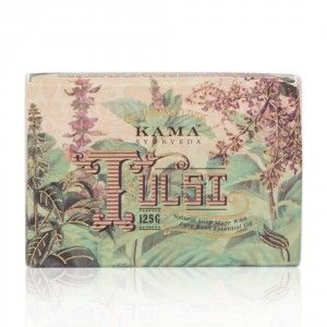 Buy Kama Ayurveda Natural Tulsi Soap - Nykaa