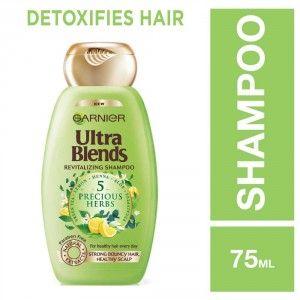 Buy Garnier Ultra Blends 5 Precious Herbs Shampoo - Nykaa