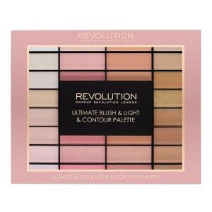 Buy Makeup Revolution Ultimate Blush & Light & Contour Palette - Nykaa