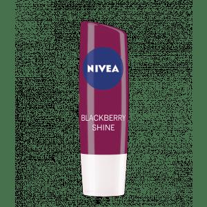 Buy Nivea Lip Care Fruity Shine - Blackberry - Nykaa