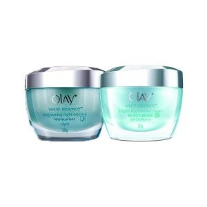 Buy Olay White Radiance Day and Night Brightening Intensive Regime - Nykaa