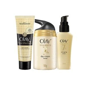 Buy Olay Total Effects 7 In One Anti-Ageing Cleanse, Treatment and Moisturise Regime  - Nykaa