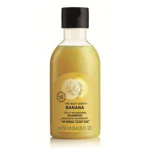 Buy The Body Shop Banana Truly Nourshing Shampoo - Nykaa