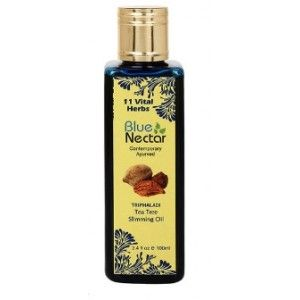 Buy Blue Nectar Triphaladi - Tea Tree Slimming Oil - Nykaa