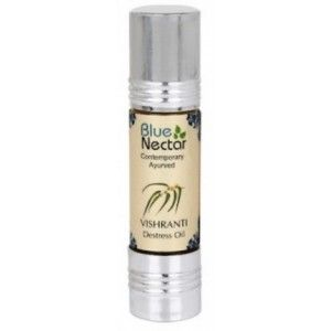 Buy Blue Nectar Vishranti - Destress Oil - Nykaa