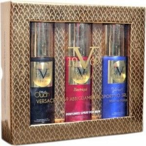 Buy Versace 19.69 Italia - Prive Oudh + Electrique + Vibrante  Deodorant Gift Set For Men (Set of 3) - Nykaa