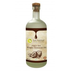Buy Pure Nutrition Organic Raw Virgin Coconut Oil - Nykaa