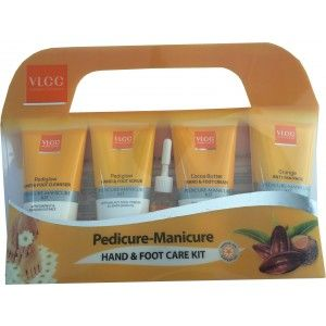 Buy VLCC Pedicure-Manicure Hand & Foot Kit - Nykaa