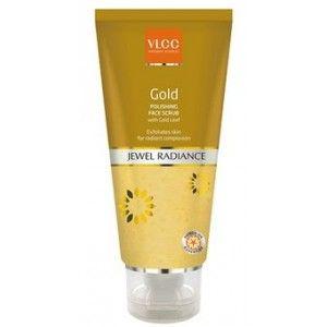 Buy VLCC Gold Polishing Face Scrub - Nykaa