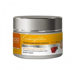 Buy VLCC Enbrighten Tinted Sunscreen Souffle SPF 25 - Nykaa