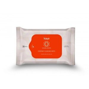 Buy Kaya Everyday Cleansing Wipes - Everyday Essentials (Pack Of 30) - Nykaa