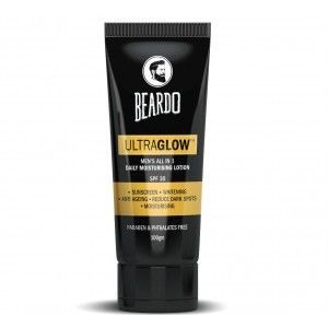 Buy Beardo Ultraglow All In 1 Men's Face Lotion - Nykaa