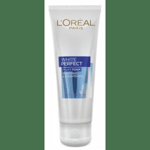 Buy L'Oreal Paris White Perfect Facial Milky Foam - Nykaa