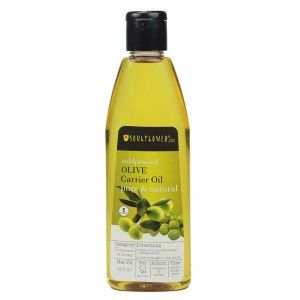 Buy Soulflower Coldpressed Olive Carrier Oil - Nykaa
