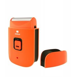 Buy Havells PS7001 Rechargeable Pocket Shaver For Men - Orange - Nykaa