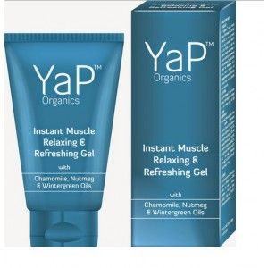 Buy VLCC YaP TM Organics Instant Muscle Relaxing & Refreshing Gel - Nykaa