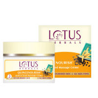 Lotus Herbal Quincenourish Quince Seed Massage Crème
