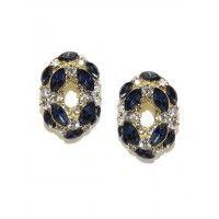 Tipsyfly Sapphire Elegance Earrings