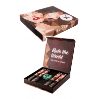 """SUGAR Matte as Hell """"Win With Bolds""""Crayon Lipstick Gift Box"""