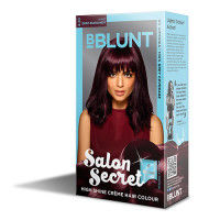 BBLUNT Mini Salon Secret High Shine Creme Hair Colour - Wine Deep Burgundy 4.20 (Rs.4 off)