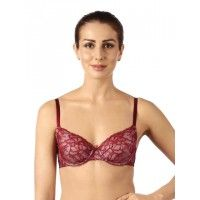 Triumph Women's Non Padded Underwired Red Bra