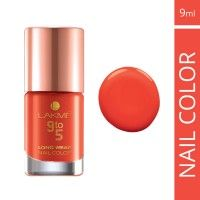 Lakme 9 To 5 Long Wear Nail Color - Peach Ploy