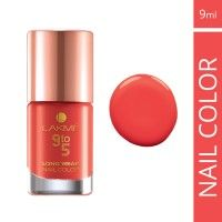 Lakme 9 To 5 Long Wear Nail Color - Coral Cue