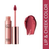 Lakme 9 to 5 Weightless Matte Mousse Lip & Cheek Color - Plum Feather