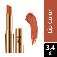 Lakme Absolute Argan Oil Lip Color - Caramel Custard