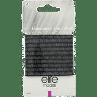 Elite Models (France) Fashion Ponytail Hair Rubber Bands (10 pc Set) - Black