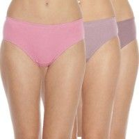 Soie Women's Highrise Panty Pack Of 3 - Multi-Color
