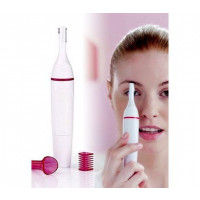 Bronson Professional Sweet Touch Sensitive Electric Bikini & Eye-brow Trimmer for Women - Battery Operated