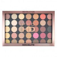Makeup Revolution Pro Hd Amplified 35 Palette Socialite