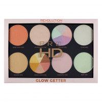 Makeup Revolution Pro Hd Amplified Palette Glow Getter