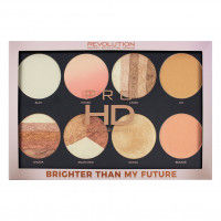 Makeup Revolution Pro Hd Amplified Palette Brighter Than My Future