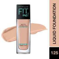Maybelline New York Fit Me Matte+Poreless Liquid Foundation With Pump