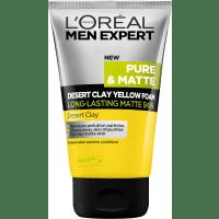 L'Oreal Men Expert Pure & Matte Desert Clay Yellow Foam