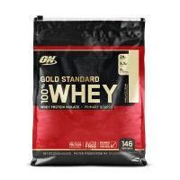 Optimum Nutrition (ON) 100% Whey Gold Standard - 10 lbs (Vanilla Ice Cream)