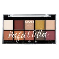 NYX Professional Makeup Perfect Filter Eyeshadow Palette