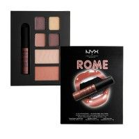 NYX Professional Makeup City Set Lip, Eye, & Face Collection - Rome
