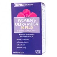 GNC Women's Ultra Mega 50 Plus Timed-Release (60 Tablets)
