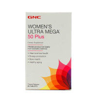 GNC Women's Ultra Mega 50 Plus Timed-Release (60 Tablets)